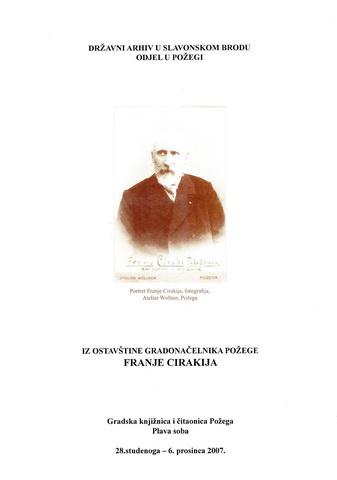 Izlozba - Franjo Ciraki