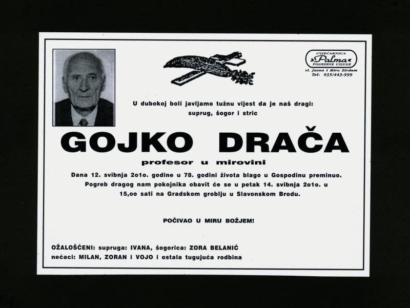 Gojko Drača (1932.-2010.)