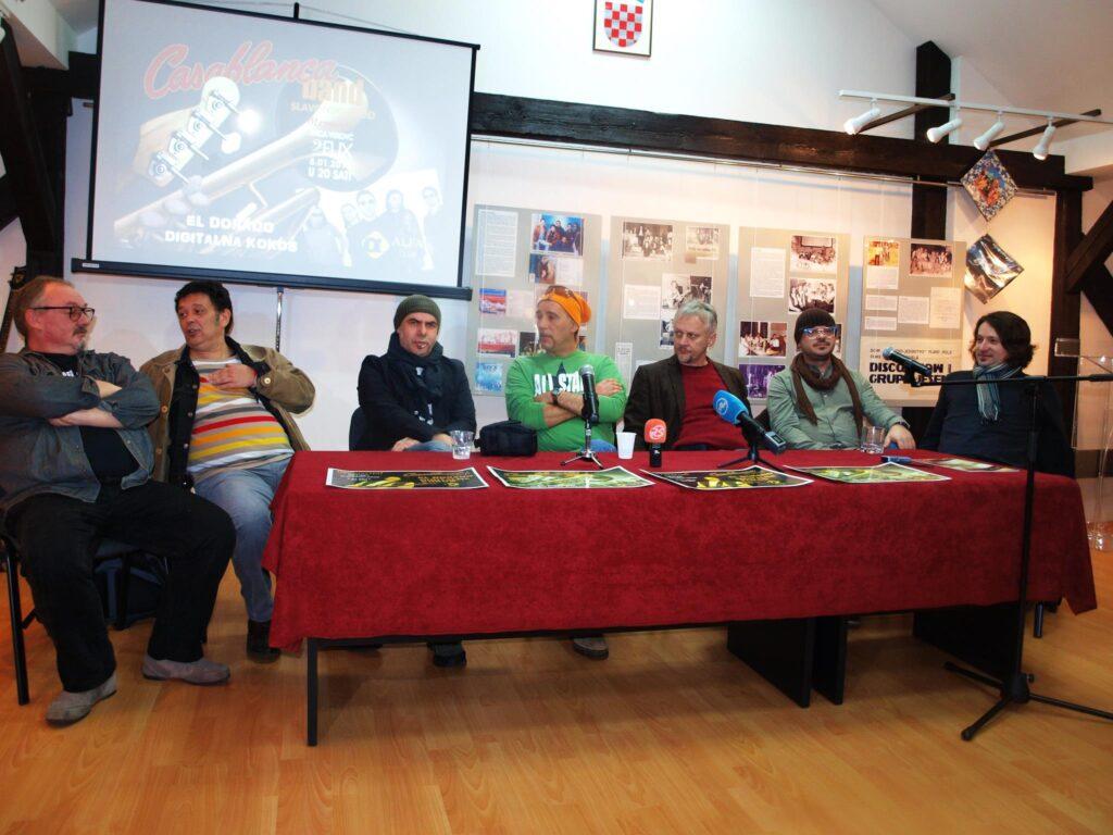 Konferencija za novinare ususret Rock memorijalu ''Ivan Vuković-Fux''