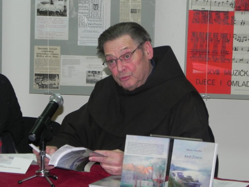 Pater Mario Crvenka, autor zbirke pjesama ''Brod života''